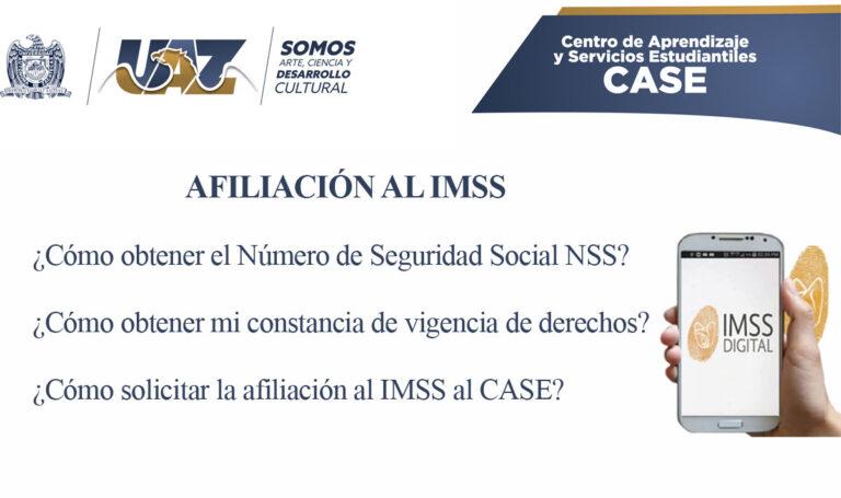 Afiliación IMSS